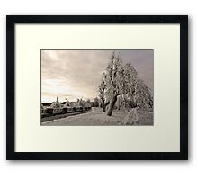 To Everyone On RB - A Very Blessed And Heartful Merry Christmas Framed Print