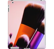 Several makeup brushes. Multicolored iPad Case/Skin