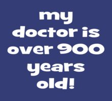 my doctor is over 900 years old! by ibx93