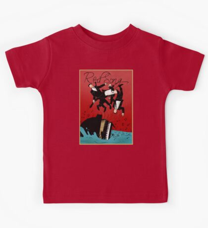 Red Song - Poster Art Kids Tee