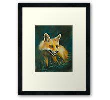 Fox. Framed Print