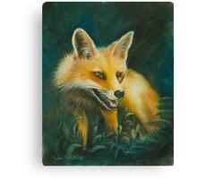 Fox. Canvas Print