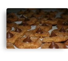 cookies cookies cookies Canvas Print