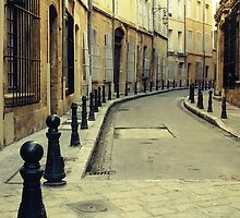 Alley by Caroline Fournier