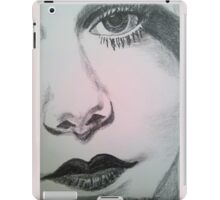 Harlean, Black and White iPad Case/Skin