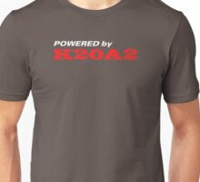 Powered by K20a2 Unisex T-Shirt