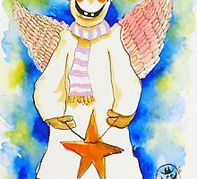 Christmas Angel by ivDAnu