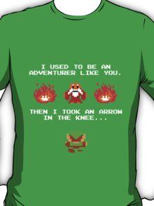 I Was An Adventurer Like You T-Shirt
