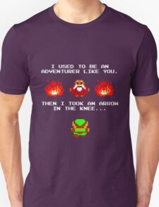 I Was An Adventurer Like You T-Shirt