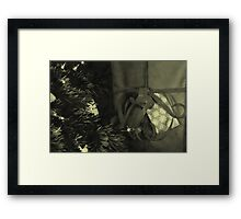 Waiting in Expectation  Framed Print