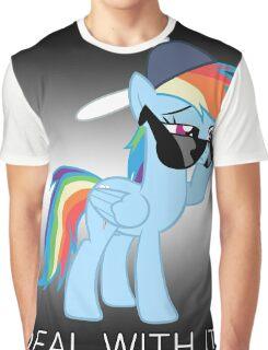 Rainbow Dash Brony Graphic T-Shirt