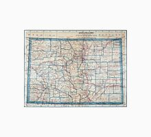 Vintage Map of Colorado (1921) Unisex T-Shirt