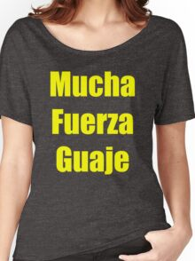 Mucha Fuerza Guaje Women's Relaxed Fit T-Shirt