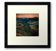 Tuscany Recalled Framed Print