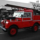 Land Rover Fire Engine by Mark Bird