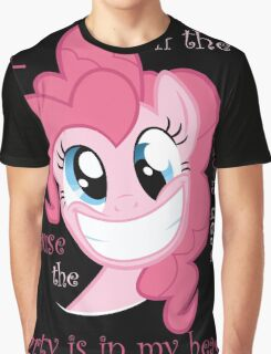 Pinkie Pie Party in my Head Graphic T-Shirt