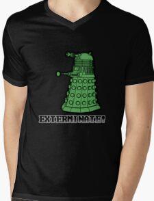 Dalek exterminate Mens V-Neck T-Shirt