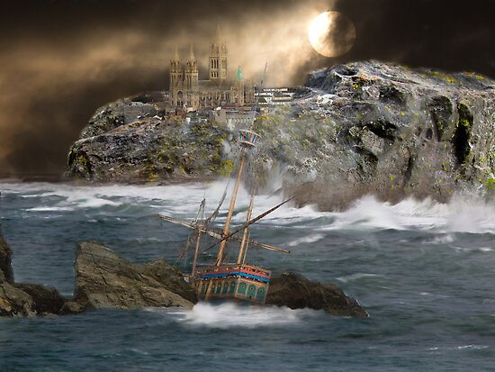 Cornish Wreckers by Brian Roscorla