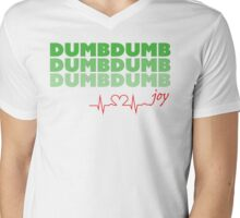 Red Velvet Joy Dumb Dumb Mens V-Neck T-Shirt