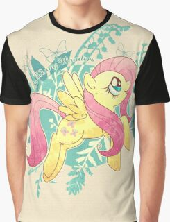 Flutter Nature Graphic T-Shirt