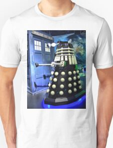 The TARDIS and a Dalek T-Shirt