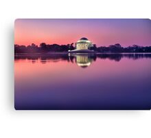 Jefferson Monument 2 Canvas Print