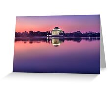 Jefferson Monument 2 Greeting Card