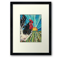 Rise and Shine Framed Print