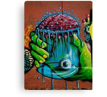Paris Graffiti 2011 I Canvas Print