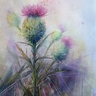 Thistle by Patricia Henderson