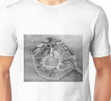 Liberty Island Black and White Photograph (1921) Unisex T-Shirt
