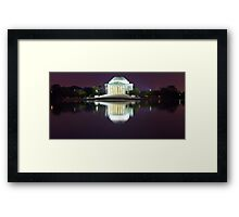 Jefferson Memorial 1 Framed Print