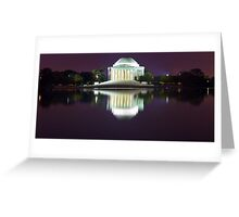 Jefferson Memorial 1 Greeting Card