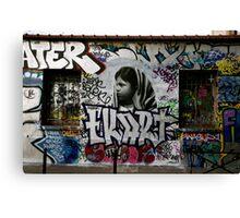 Paris Graffiti 2011 V Canvas Print