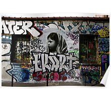 Paris Graffiti 2011 V Poster