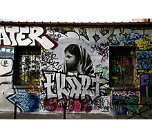Paris Graffiti 2011 V Photographic Print