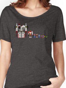 8 bit robots Women's Relaxed Fit T-Shirt