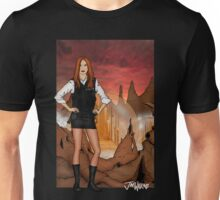 Amy Pond & Gallifrey V1 Unisex T-Shirt