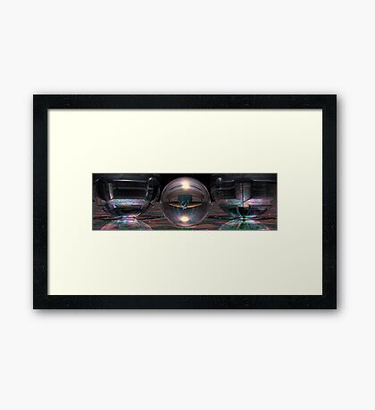 The Beauty Lies Within Framed Print