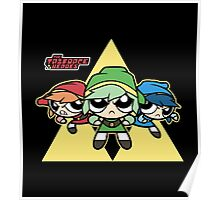 The Triforce Heroes Poster