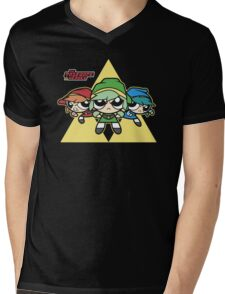 The Triforce Heroes Mens V-Neck T-Shirt