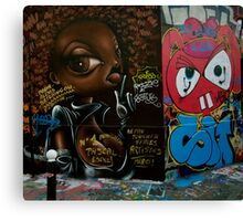 Paris Graffiti 2011 VII Canvas Print