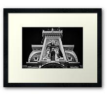 Philadelphia City Hall Detail. Framed Print