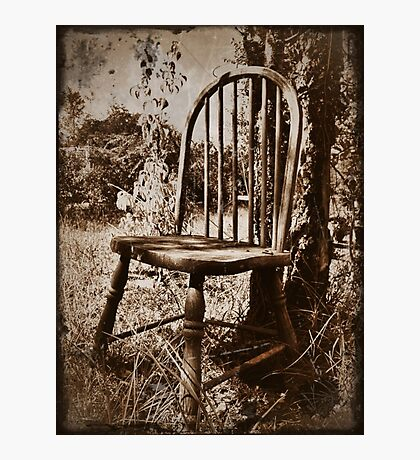 The old chair Photographic Print