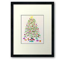 Christmas tree 2011 Framed Print