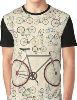 Love Fixie Road Bike Graphic T-Shirt