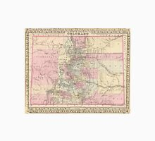 Vintage Map of Colorado (1880) Unisex T-Shirt