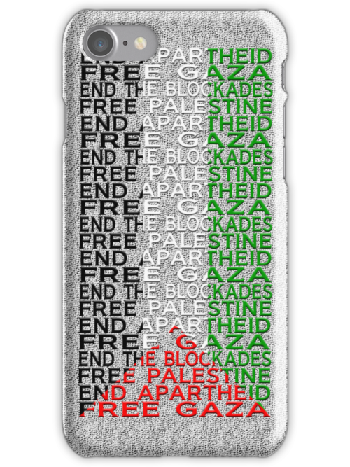 free palestine with flag by ventedanger