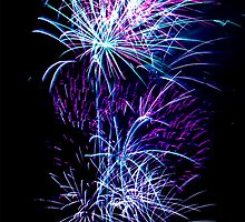 Fireworks iPhone Case by Tony Walton