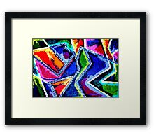 bust a move Framed Print